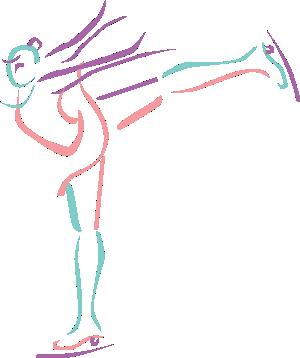 Figure Skater Art